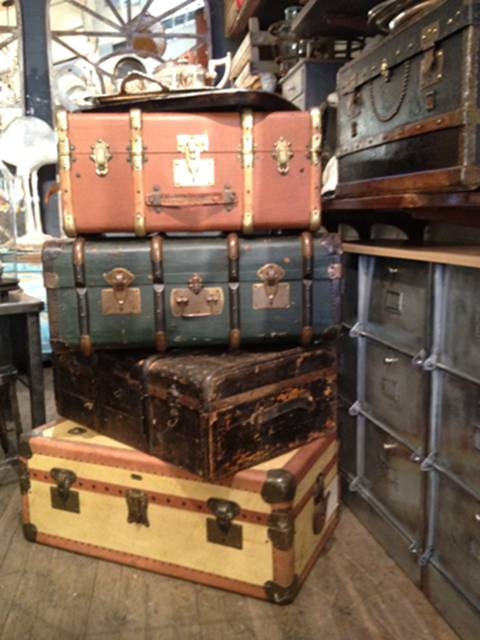 suitcases color