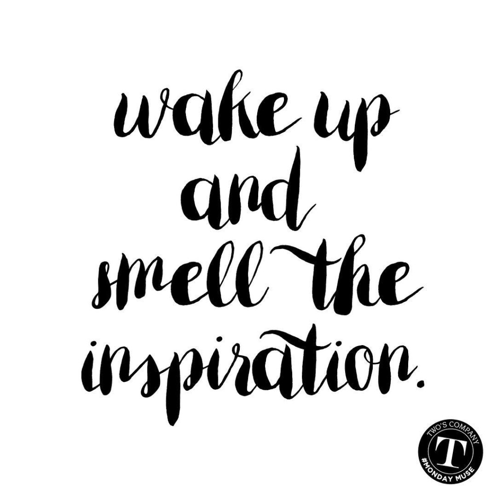 Top of the morning to you! Wake up and smellhellip