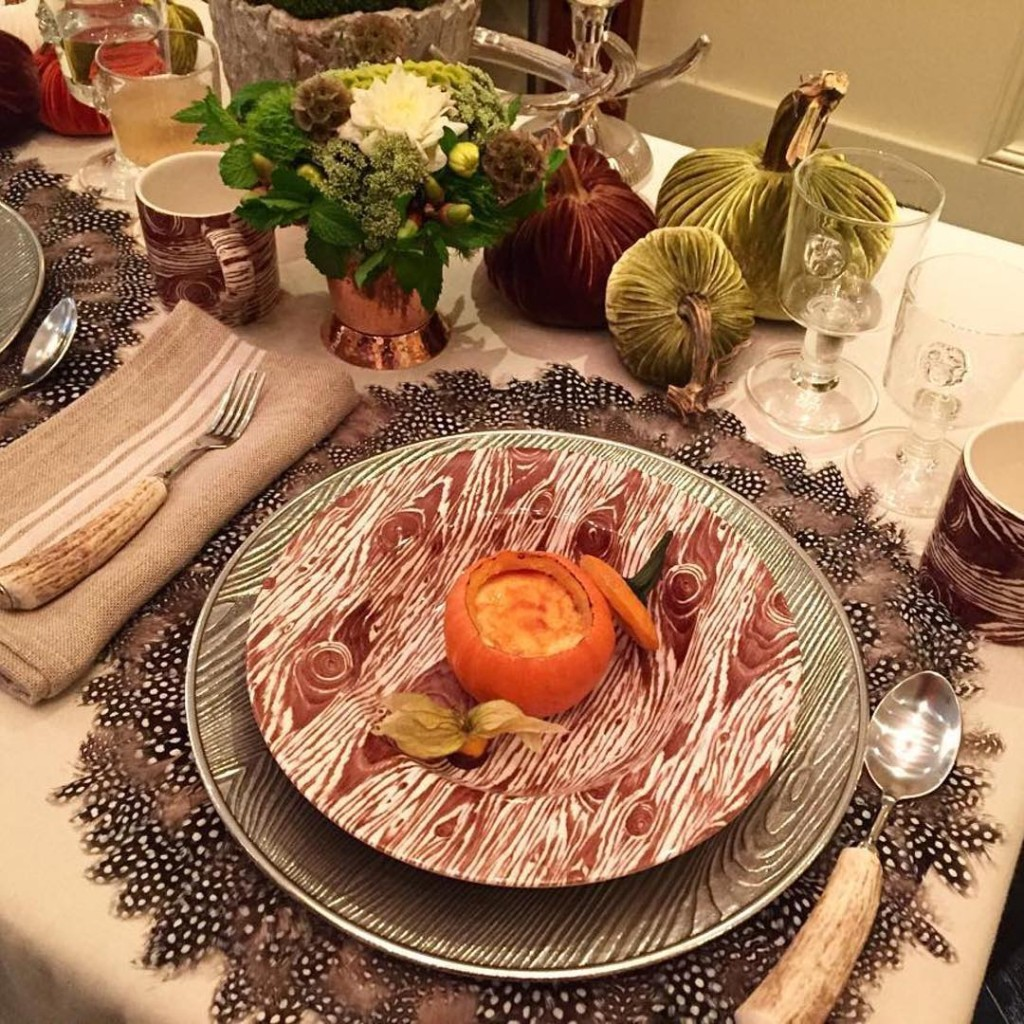 Wow! What a beautiful tablescape by cjcawilliams These placemats willhellip
