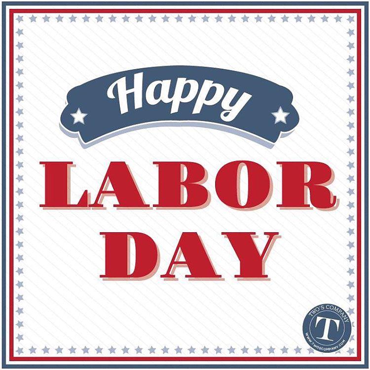 Happy Labor Day! Hope everyone has enjoyed the holiday weekendhellip