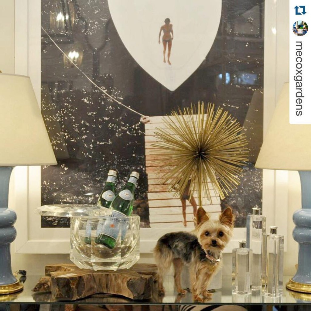 What a lovely vignette! Our Starburst Statue looks fab!!! twoscompanyhellip