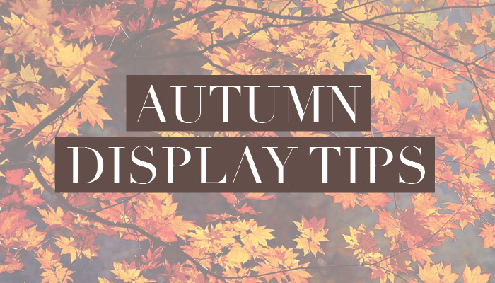 Autumn Display Tips Feature Image