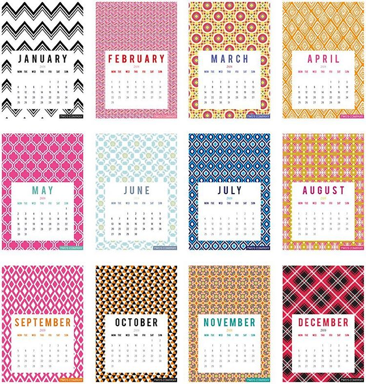 Who doesnt love a printable calendar? We do! We admithellip