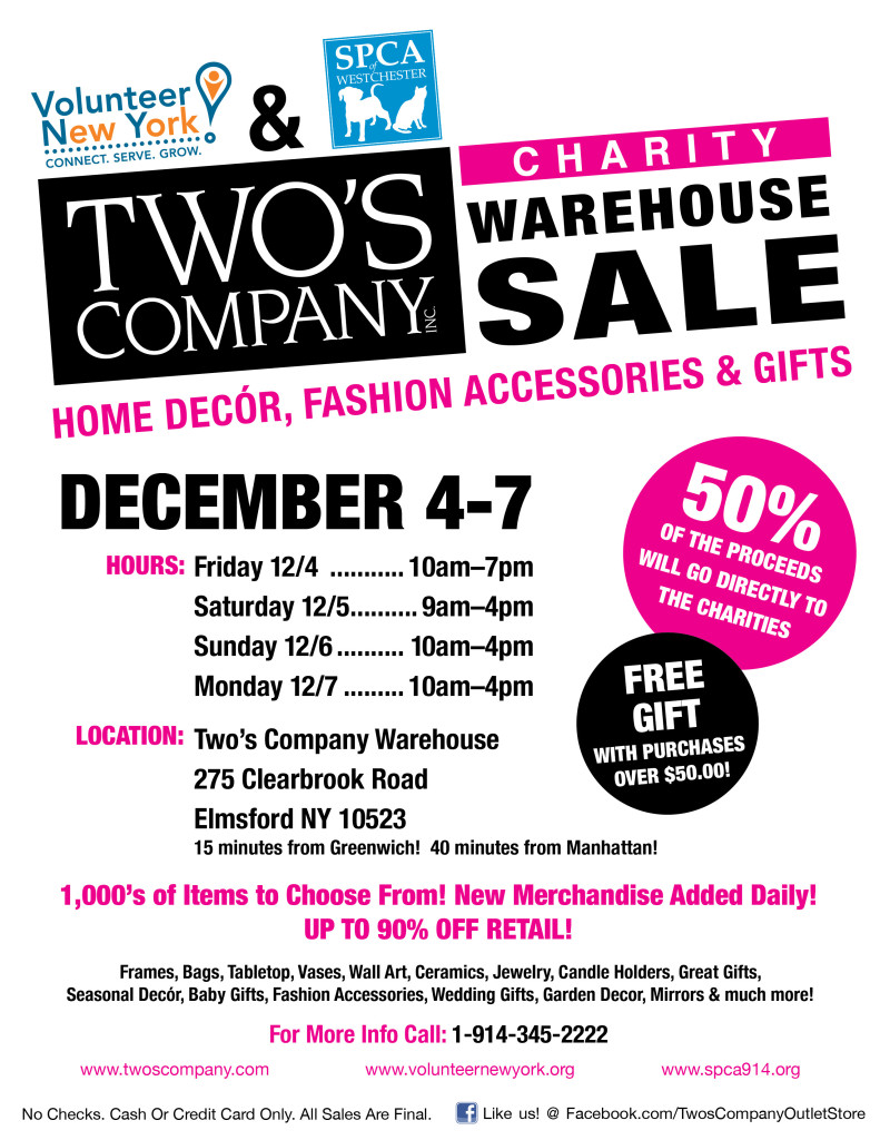 Warehouse Sale Large Flyers