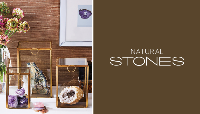 Trending: Natural Stones That Rock Your World